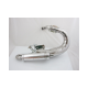 "Exhaust pipe ""LTH Road"" V2 stainless polished..."