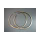 Piston rings 57.4x2mm 2.os (pair) Lambretta LI, GP/dl 150