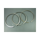 Piston rings 66.4x2mm 2.os (3 pieces) Lambretta