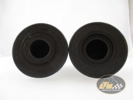 Twist grips 22/24mm length 123mm Domino black Aprilia, Derbi, Gilera