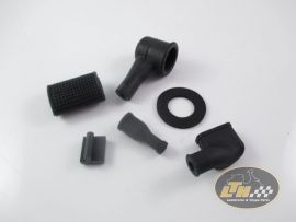 Rubber parts kit (17 pcs.) Vespa V50, PV, PK
