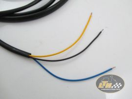 Wiring loom without blinkers with battery Vespa PX200 old