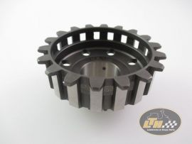 Clutch sprocket 23 teeth DRT Cosa type for 64 teeth Polini primary drive gear straight teeth Vespa PX