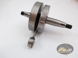 Crankshaft 43/87/12mm 20/20mm cone Mazzucchelli full webs Vespa PK50XL