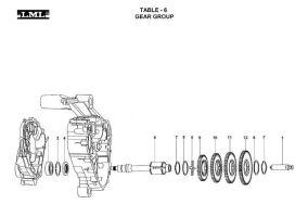 TABLE - 6     GEAR GROUP