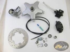 Suspension & front brake