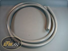Rubber legshield grey (pair) (ital.) Lambretta