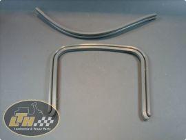 Rubber bridge piece grey (pair) (ital.) Lambretta Li1, Li2