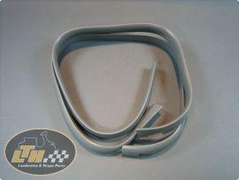 Rubber front cowl grey (pair) (ital.) Lambretta