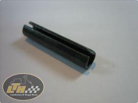 Spannhülse 5x28 (5,5mm) Sicherungsstift Gas- & Schaltrolle, Endstück Hülseneinsatz Lambretta >66