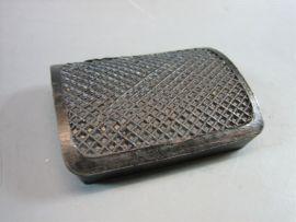 Rubber brake pad black Lambretta