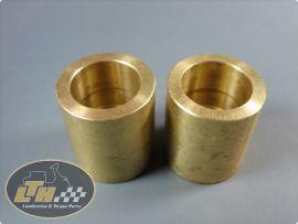 "brass sleeves for fork links (pair) ""LTH"" Lambretta Li1, Li2, Li3, LiS, SX, TV, GP & dl"