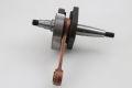 Crankshaft 43/87/12mm 19/20mm cone standard Vespa V50, PK50S