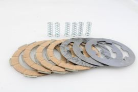 Clutch plates 4-disc (Ital.) complete Vespa PK XL2, FL, HP