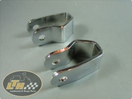 Damper brackets top (pair) Lambretta
