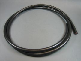 Ignition cable black 100cm / diam. 7mm (by meter)