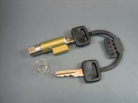 Steering lock 38.5x4 Vespa PV, V50, Sprint, PX