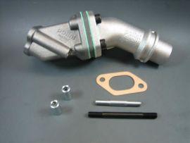 Ansaugstutzen Membran Polini 24mm 2-Loch Vespa PV, V50