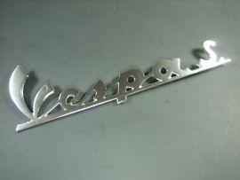 """badge """"Vespa S"""" vintage Vespa"""