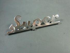 "badge ""Super"" legshield Vespa"