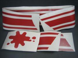 Sticker set red Lambretta GP/dl