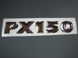 "badge ""PX150"" sticker Vespa PX Disc"