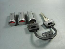 Lock set of 3 Vespa PX Lusso, T5, PK