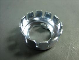 Secure basket crown nut (Ital.) Vespa PX, Sprint