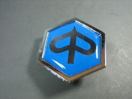 "Badge emblem horn cowl ""Piaggio logo"" Vespa PX Lusso, PK XL2, HP"