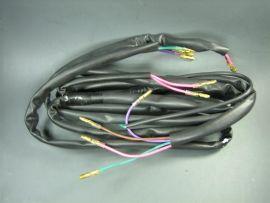 Kabelbaum mit Batterie DC schwarz Lambretta