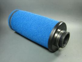 Air filter Stage6 long, blue 35mm
