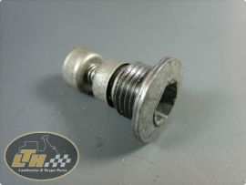 Oil plug with magnet Lambretta
