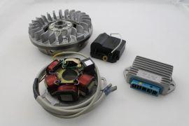Zündung elektronisch komplett (kurze Finnen) Lambretta GP/dl