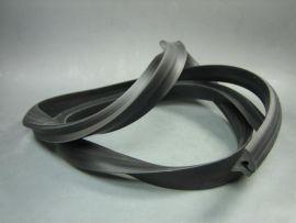 Rubber side panel black 110cm Vespa PX