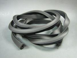 Rubber tool box black 160cm Vespa