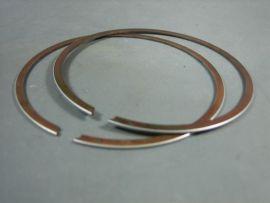 Piston rings (pair) steel forged 70mmx1.0mm Lambretta RB & TS-1