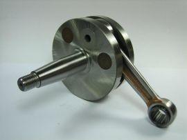 "Crankshaft 54/105/15mm 20/20mm cone ""Mazzucchelli"" long stroke Vespa PK125XL"