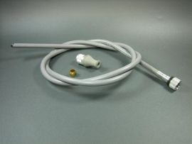 Speedometer cable complete Vespa 125/150 -63