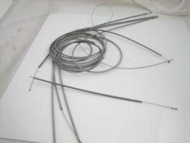 Cable kit teflon grey Lambretta