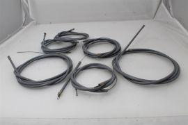 Bowdenzugsatz Teflon grau Vespa PV, V50, PK S