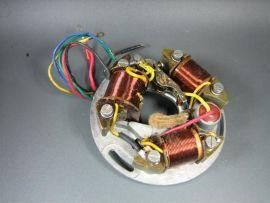 Zündgrundplatte Zündung 6V kontakt 5-Kabel Vespa VNA-VBC, Sprint
