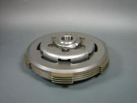 "Clutch complete 4-discs ""Newfren carbon"" Vespa PK XL2, HP"