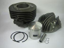 "Cylinder kit 85cc ""Pinasco"" cast iron Vespa V50, PK"