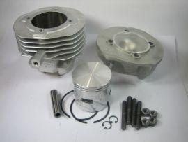 "Cylinder kit 102cc ""Pinasco"" alloy Vespa V50, PK"