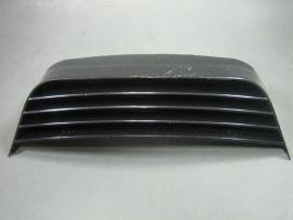 Seat grill aluminium anodized black (Ital.) Lambretta GP/dl