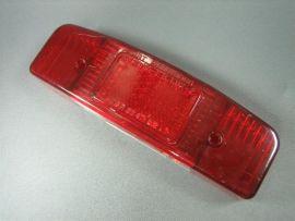 Rücklichtglas Bohrungen mittig Lambretta LI Serie 1, 2 (bis Bj 1960)