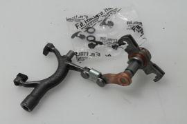 Gear selector fork, gear selector assembly Vespa V50, PV