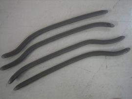 Trittleistensatz hinten grau (4 Stück) (ital.) Lambretta Serie 1 & 2