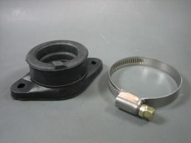 Connection rubber for carburettor 30mm bolted CS=30mm
