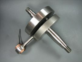 "Crankshaft 51/97/15mm 20/20mm cone ""Mazzucchelli"" full circle Vespa PK125XL"